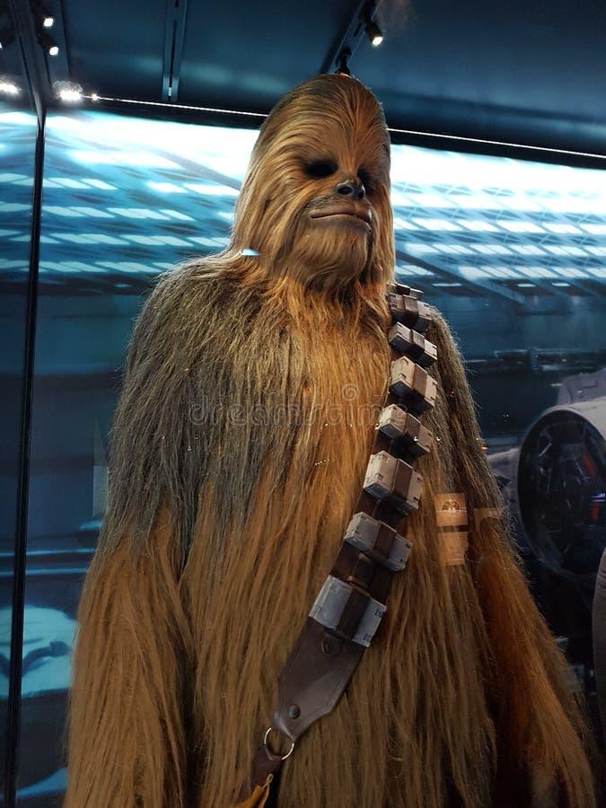 Chewbacca von Star Wars stockfotos