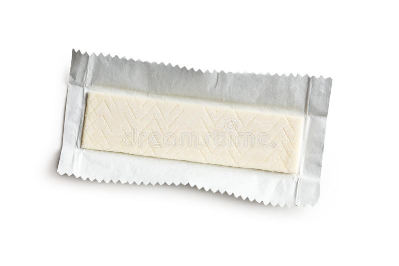 Chewing gum. Photo shot of chewing gum royalty free stock photo