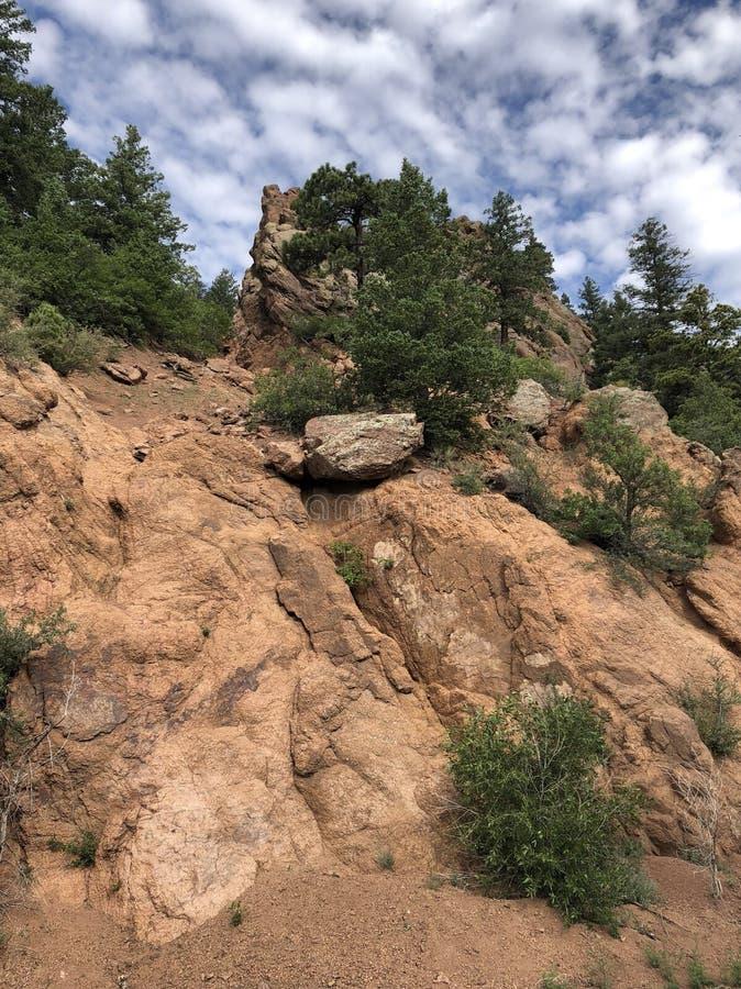 Cheyenne Cañon park zdjęcie royalty free
