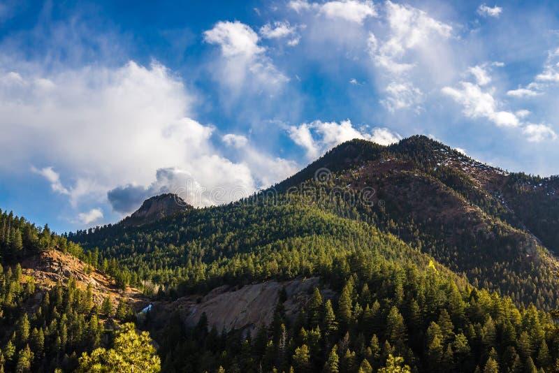 Cheyenne Canyon Colorado Springs norte imagens de stock royalty free