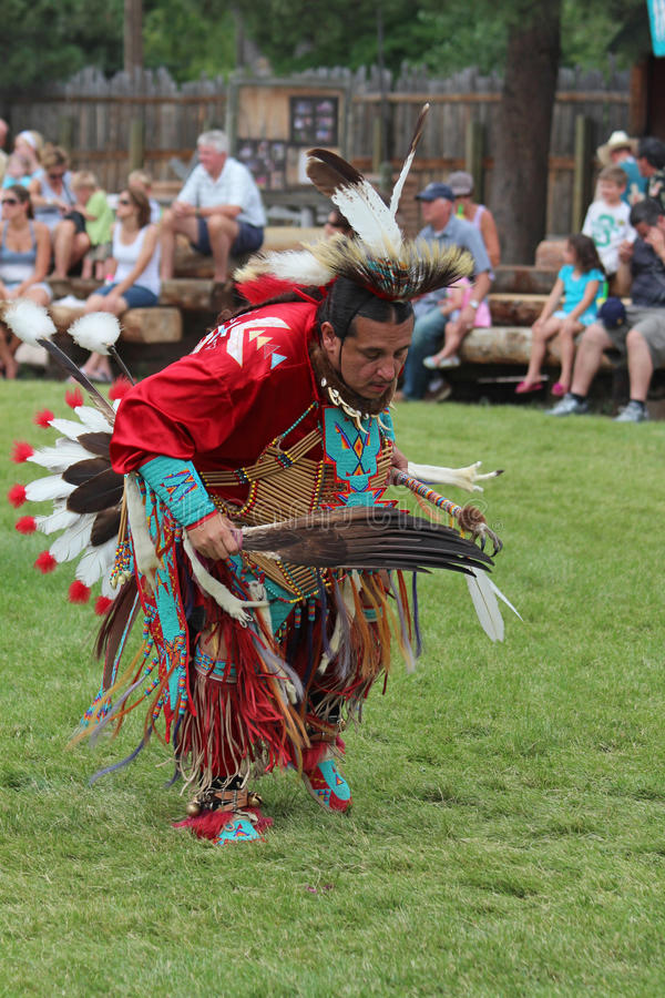 Cheyenne Frontier Days Powwow stock image
