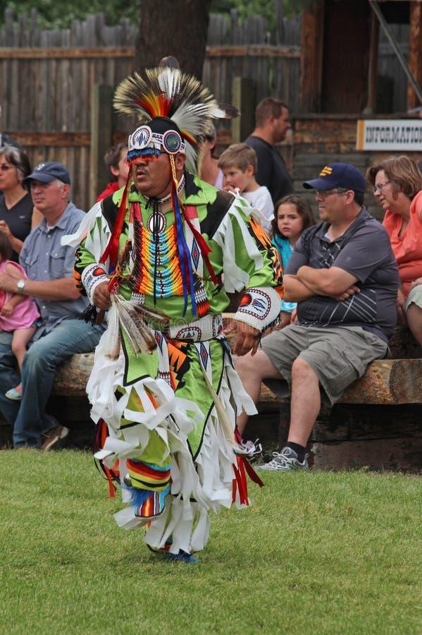 Cheyenne Frontier Days Powwow royalty free stock photos