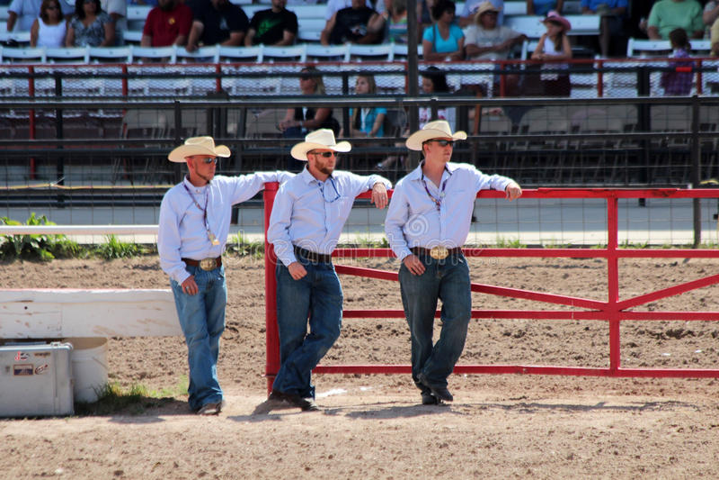 Cheyenne Frontier Days Rodeo 2013 stock photo