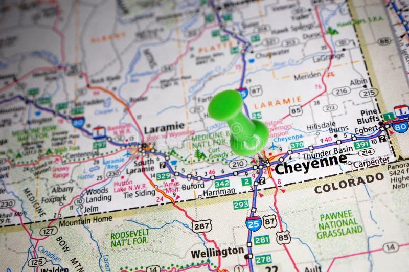 Cheyenne, Wyoming lizenzfreie stockfotos