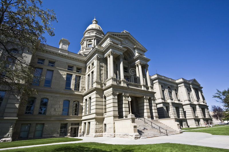 Cheyenne, Wyoming - State Capitol. State Capitol of Wyoming in Cheyenne stock photography