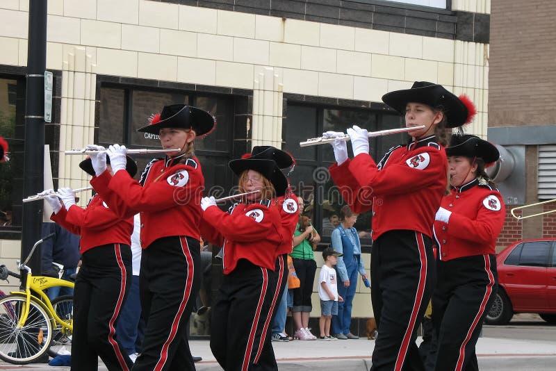 Cheyenne, Wyoming, usa - Lipiec 26-27, 2010: Parada w w centrum Cheye zdjęcie stock