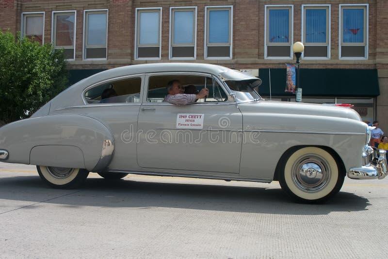Cheyenne, Wyoming, usa - Lipiec 26-27, 2010: Parada w w centrum Cheye obraz royalty free