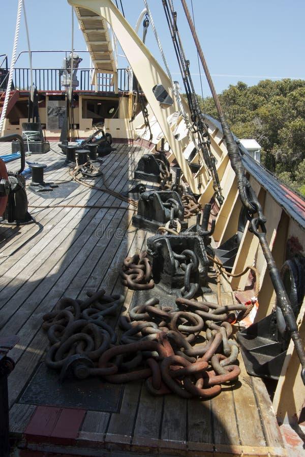 Cheynes IV en la estación de la caza de ballenas de la playa de Cheynes, Albany, WA, Australia imagenes de archivo