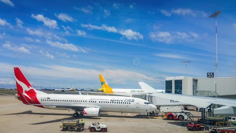 Chez Sydney Kingsford-Smith International Airport photo stock