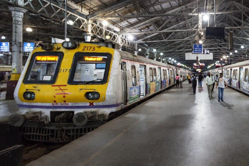 Chhatrapati Shivaji终点 免版税库存图片