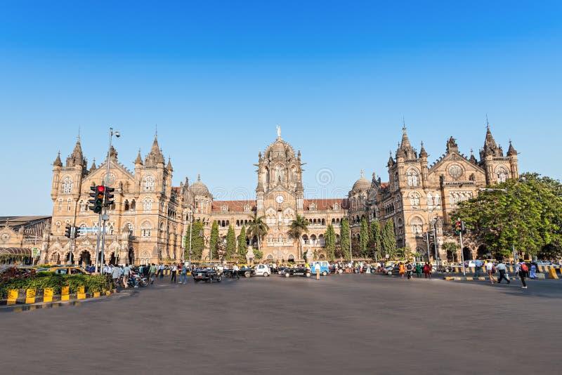 Chhatrapati Shivaji终点 库存图片