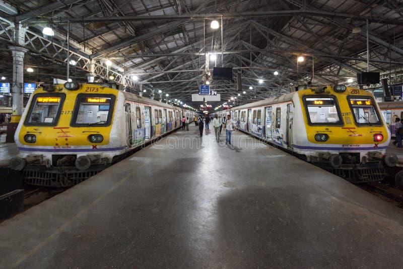 Chhatrapati Shivaji终点 库存照片