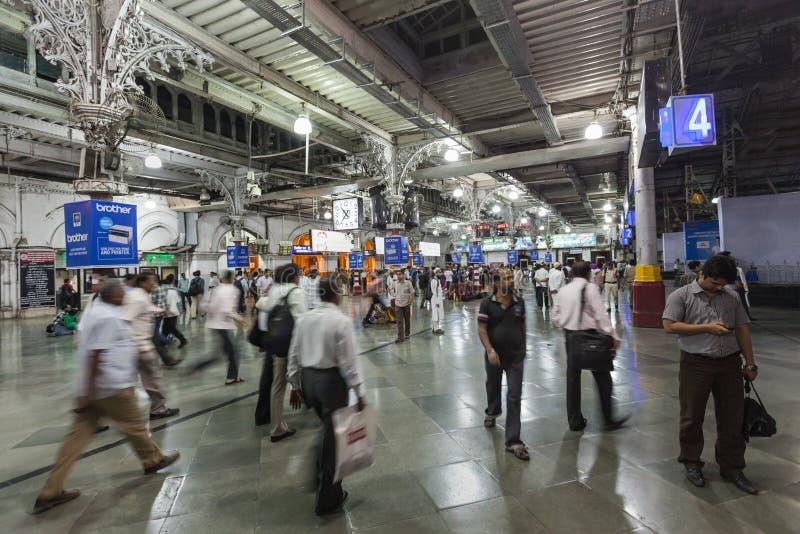 Chhatrapati Shivaji终点 图库摄影