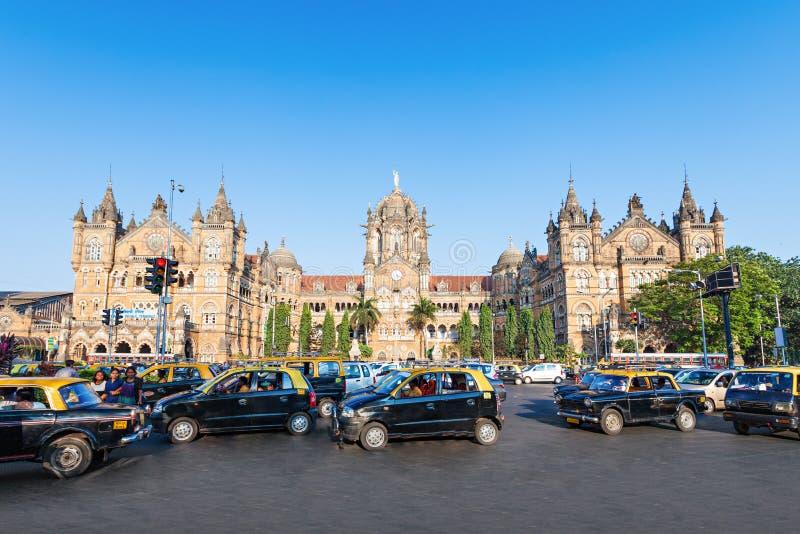 Chhatrapati Shivaji终点 免版税库存照片