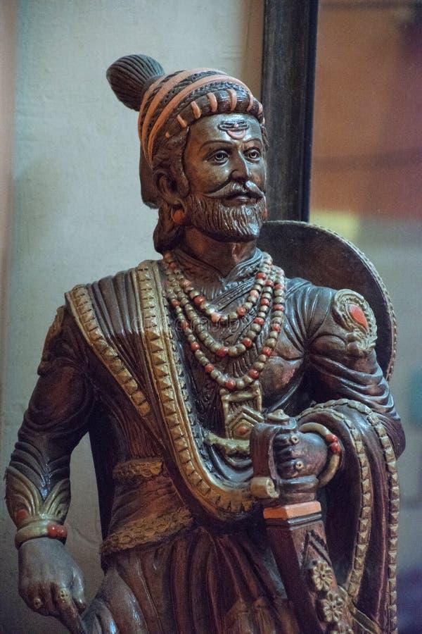 Chhatrapati Shivaji Maharaj Statue, Sion Fort, Mumbai, maharashtra photo libre de droits