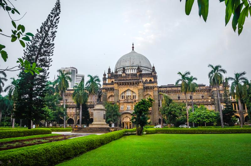 Chhatrapati Shivaji Maharaj Vastu Sangrahalaya, museo di principe di Galles, Mumbai, India immagini stock libere da diritti