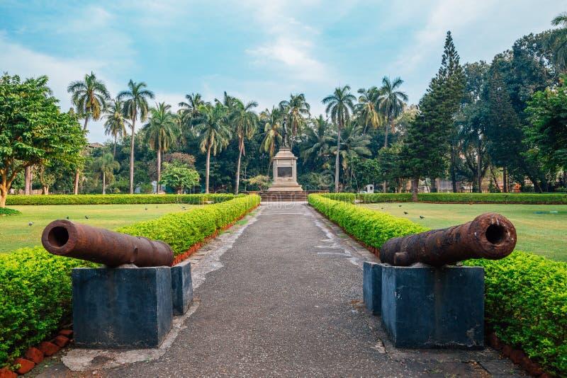 Chhatrapati Shivaji Maharaj Vastu Sangrahalaya Prince del museo de País de Gales en Bombay, la India foto de archivo libre de regalías