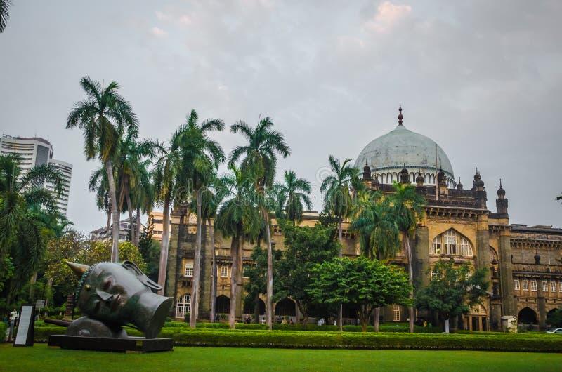 Chhatrapati Shivaji Maharaj Vastu Sangrahalaya, Prinz von Wales-Museum, Mumbai, Indien lizenzfreies stockfoto