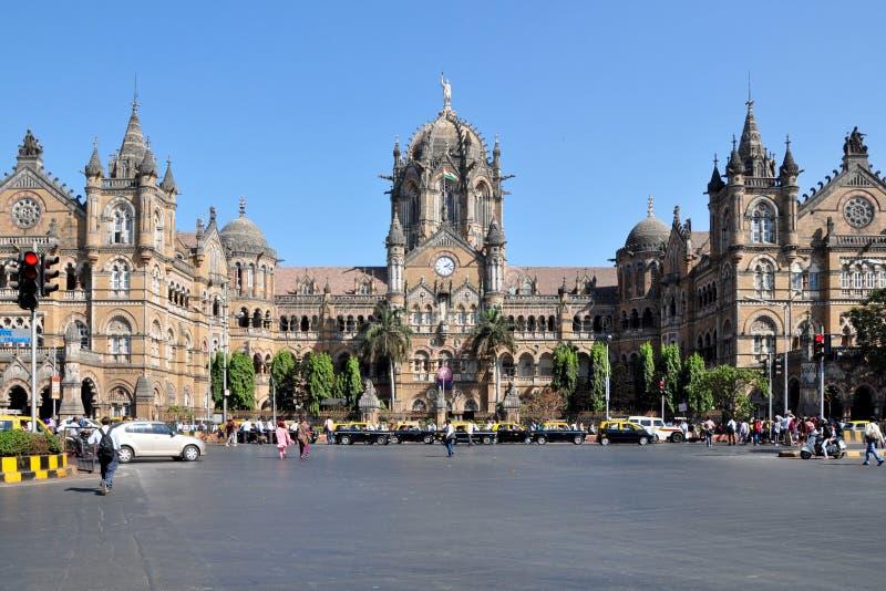 Chhatrapati Shivaji Terminus zdjęcie stock