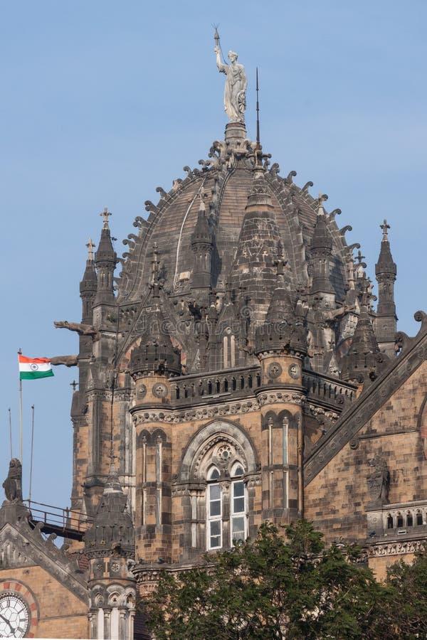 Chhatrapati Shivaji Terminus Railway Station stockfoto