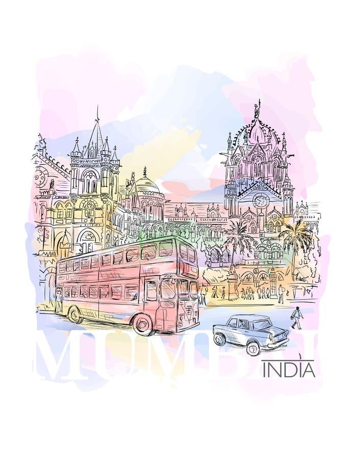 Chhatrapati Shivaji royalty free illustration