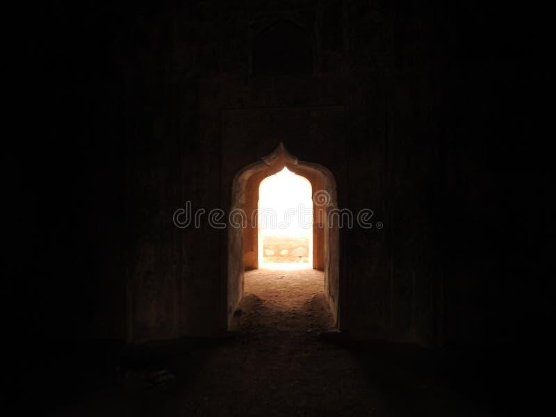 Chhatri, día claro, Orchha, Madhya Pradesh, la India imagen de archivo libre de regalías