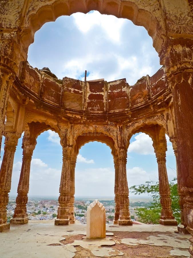 Chhatri de la soda de Kirat Singh imagen de archivo