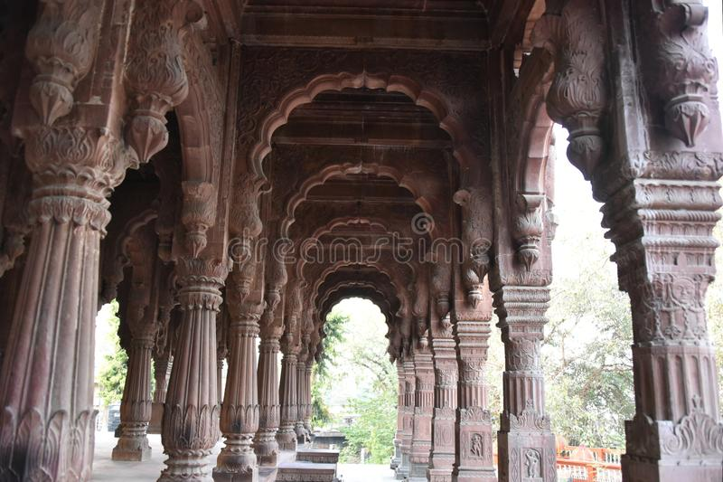 Chhatri Krishnapuri, Indore Madhya Pradesh στοκ φωτογραφία με δικαίωμα ελεύθερης χρήσης