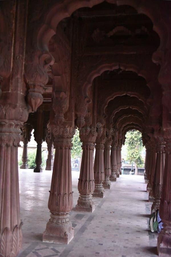 Chhatri Krishnapuri, Indore Madhya Pradesh στοκ εικόνα
