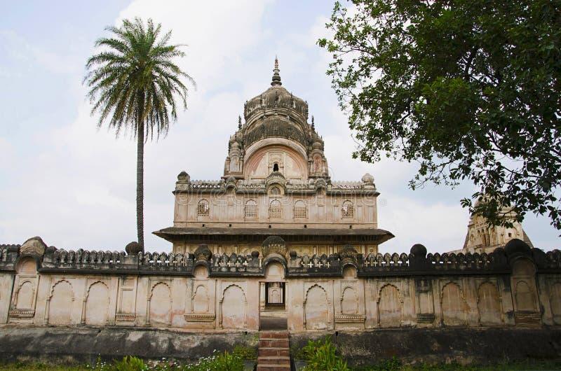 Chhatri of maharaja Parikshat. Datia. Madhya Pradesh state of India. Chhatri of maharaja Parikshat. Datia. Madhya Pradesh India royalty free stock images