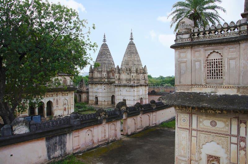 Chhatris of Datia Kings. Datia. Madhya Pradesh state of India. Chhatris of Datia Kings. Datia. Madhya Pradesh India stock image