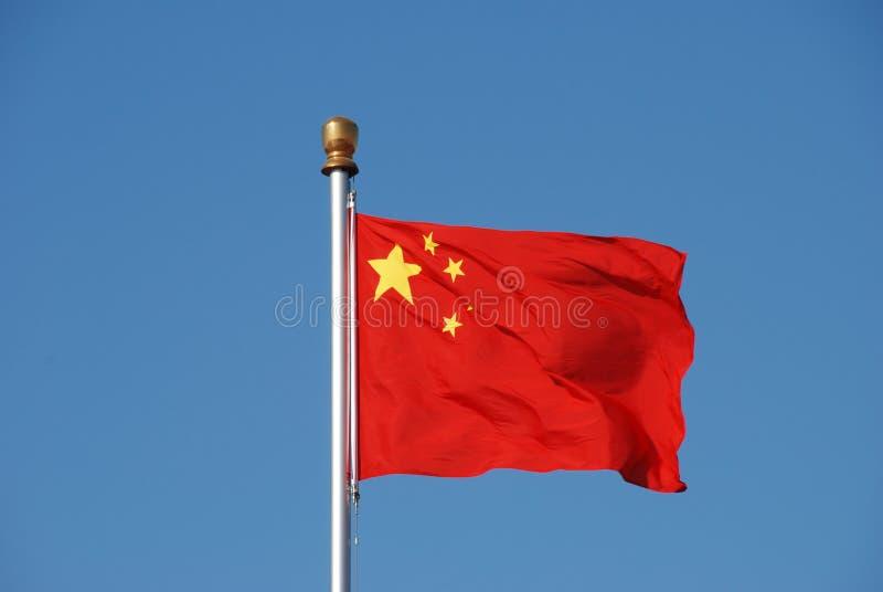 chińczycy flagę zdjęcia stock