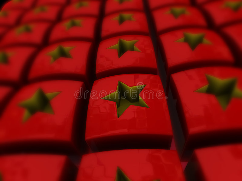 chińczycy gwiazdy zdjęcie stock