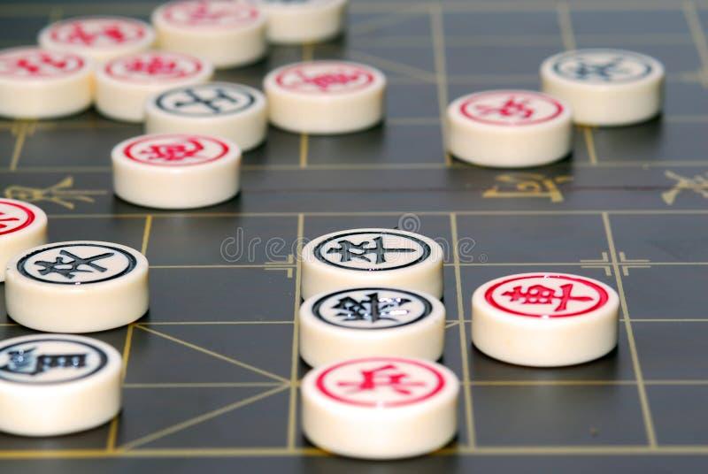 chińczycy szachowy zdjęcia royalty free