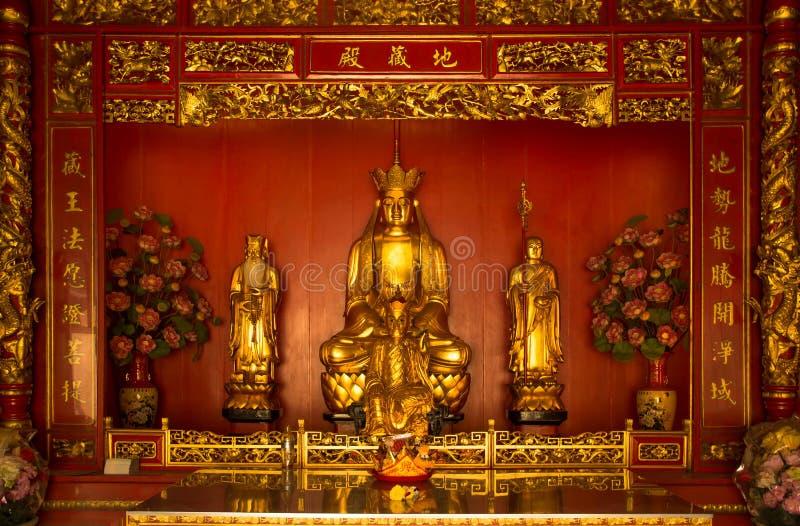 Chińczyk Buddha Chińska świątynia obraz stock