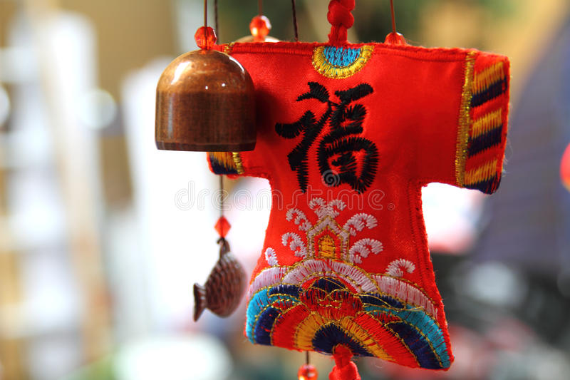chińczyk handcraft saszetkę tradycyjną zdjęcia stock