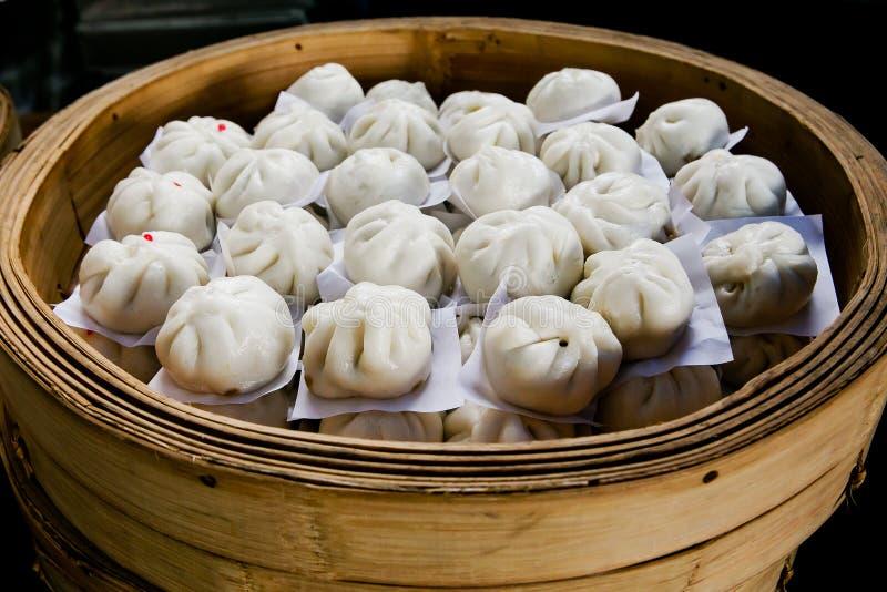 Chińczyk Odparowane babeczki fotografia stock