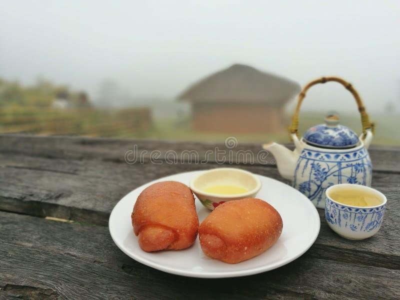 Chińczyka śniadanie zdjęcie stock