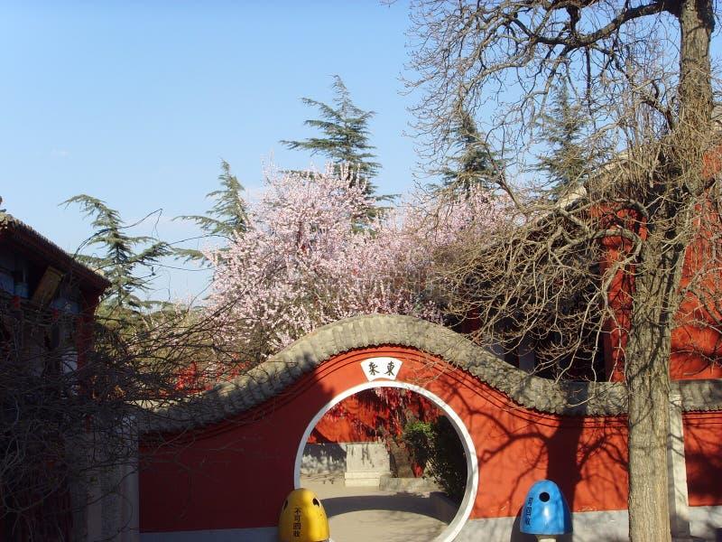 Chińczyka Baodu Zhaiï ¼  znaka statueï ¼  chińczyka architektura zdjęcia stock