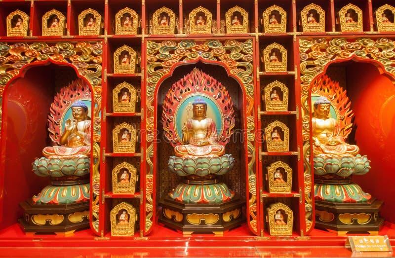 Chińczyka Buddha zębu relikwii świątynia zdjęcia royalty free