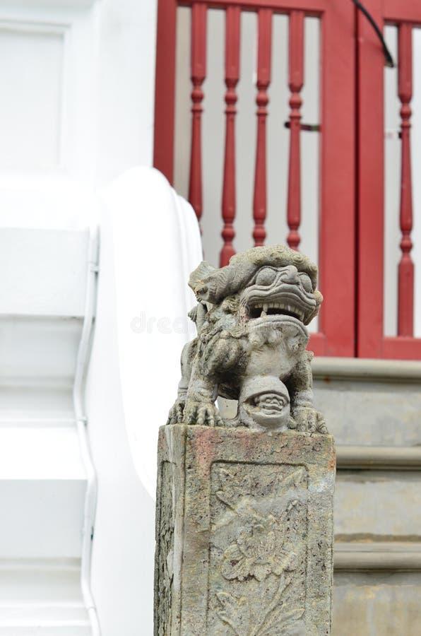 Chińczyka kamienny potwór obrazy royalty free
