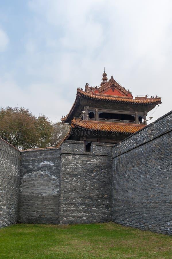 Chińczyka kasztelu wierza obrazy royalty free