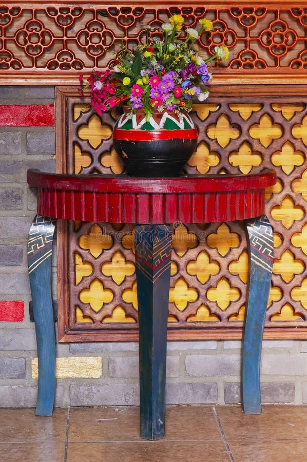 chińczyka stół zdjęcia stock