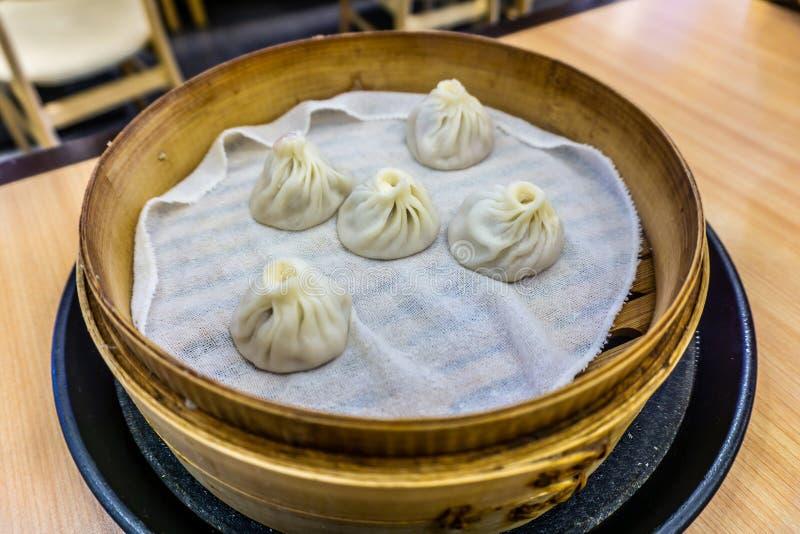 Chińczyka Xiaolongbao kluchy zdjęcia royalty free