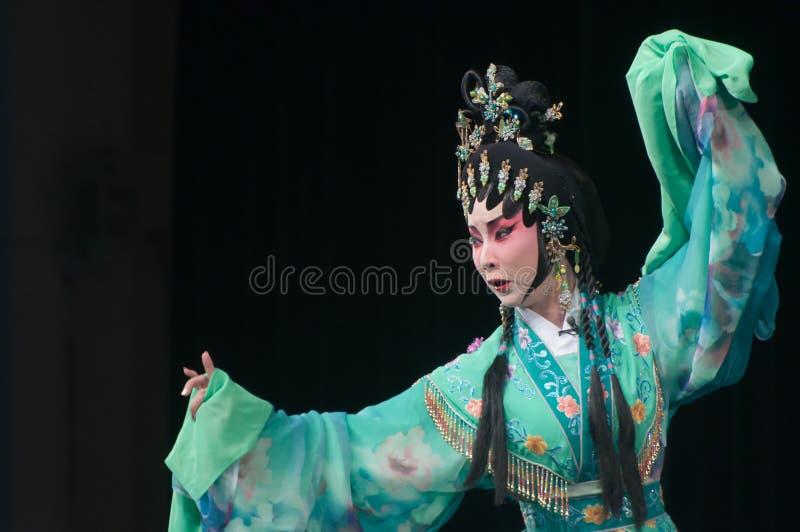 Chińczyka Yue opery aktor obraz royalty free