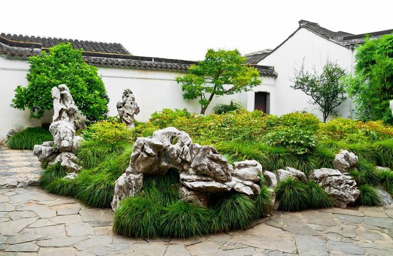 chińczyka zieleni park zdjęcia royalty free