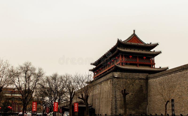 chińscy antyczni budynki obraz royalty free