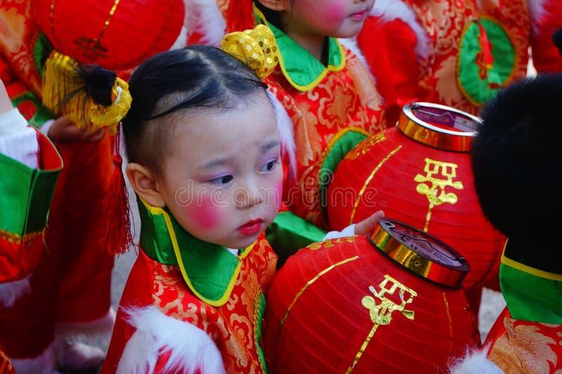 Chińscy dziecinów dzieci obrazy royalty free