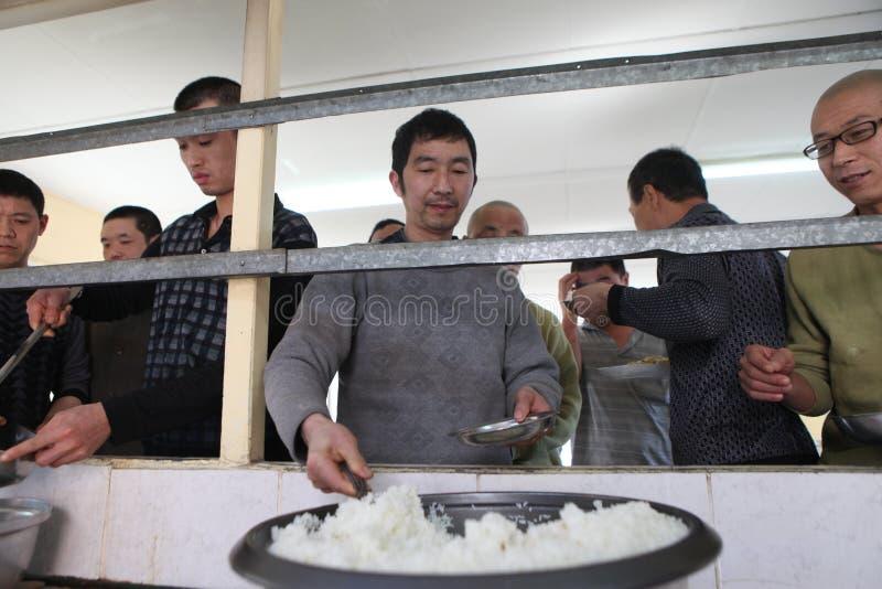 Chińscy kopalniani pracownicy obraz royalty free