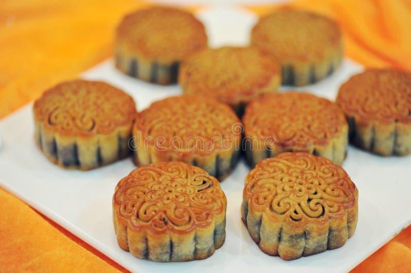 chińscy mooncakes obrazy royalty free